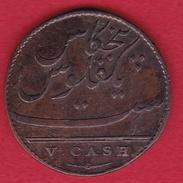 Indes Britanniques - 5 Cash - 1803 - Inde