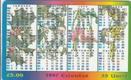 Isle Of Man - 1997 Calendar