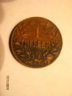 German East Africa: 1 Heller 1908 - Duits Oost-Afrika