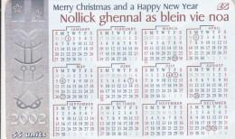 Isle Of Man - 2002 Calendar