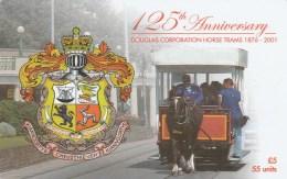 Isle Of Man - 125th. Anniversary Douglas Corporation Horse Trams