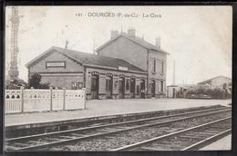 CPA 62 - Dourges, La Gare - Sonstige Gemeinden