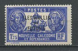 WALLIS FUTUNA 1930  N° 60B *  Neuf = MH Trace De Charnière Cote 2.50 € Bateaux Sailboat Bougainville La Pérouse - Unused Stamps
