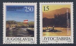 Jugoslavija Yugoslavia 1991 Mi 2479 /0 YT 2344 /5 ** Danube River Steamers - Community Danubian Regions Conf., Belgrade - 1945-1992 Socialistische Federale Republiek Joegoslavië