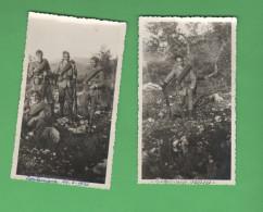CORTACCIONE Spoleto 1933 Militari Fanteria Lotto 2 Foto - Guerra, Militari