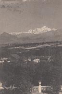 Ferney  01 - Vue Du Mont-Blanc Prise De La Terrasse Du Château De Voltaire - 1908 - Ferney-Voltaire