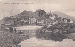 Italie - Saluti Da Ventimiglia - Face Del Fiume Roia - Lavandières - 1917 - Imperia