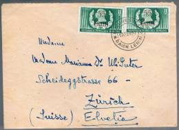 Romania, 1952, For Zurich - Covers & Documents