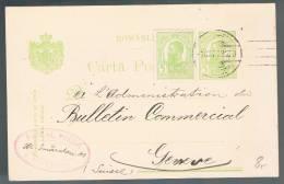 Romania, 1909, For Geneve - 1881-1918: Charles I