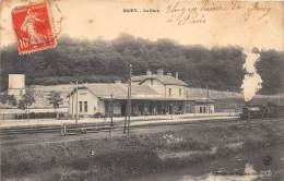 54 - MEURTHE ET MOSELLE - Gares Et Chemin De Fer / Briey - La Gare - Briey