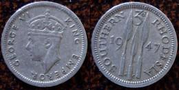 (J) SOUTHERN RHODESIA: 3 Pence 1947 XF (840) - Rhodésie