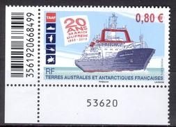 French Antarctic Teritory 2015 20° MarionDufrense MNH** - Lot. 4603 - Terres Australes Et Antarctiques Françaises (TAAF)