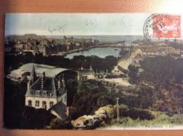 Cachet SOUTHAMPTON MB Sur TP Type Semeuse Carte De Cherbourg - Ohne Zuordnung