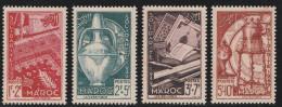 MAROC 1950 - N° 288 Et 291 - Neufs** Légers Points De Rousseur - Morocco (1891-1956)