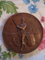 Médaille De Tir SUISSE ( 1887 ). - Medallas Y Condecoraciones