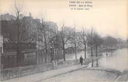 PARIS - INONDATIONS 1910 - Crue De La Seine : Quai De Passy - CPA - - Inondations De 1910
