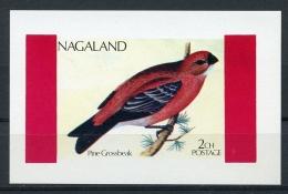 Nagaland, Birds, MNH Imperforated Cinderella Sheet - Timbres