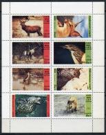 Dhufar, Animals, Fauna, MNH Perforated Cinderella Sheet - Timbres