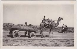 Pakistan - Karachi (Camel Cart) - With Stamp 1935 - Pakistan
