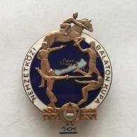 Badge (Pin) ZN003962 - Pentathlon International Balaton Cup Hungary (Magyarország) - Pin