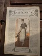 29 Septembre 1918  LA MODE ILLUSTREE   ( Belles Gravures De Mode; Etc) - Journaux - Quotidiens
