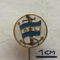 Badge (Pin) ZN003966 - Ship (Schiff / Boat) Rijecno Brodarstvo (River Transportation) Dunavski Lloyd Sisak - Boats