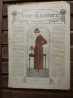 3 Février 1918  LA MODE ILLUSTREE   ( Belles Gravures De Mode; Etc) - Unclassified