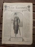 10 Février 1918  LA MODE ILLUSTREE   ( Belles Gravures De Mode; Etc) - Unclassified