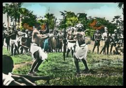 GUINE-BISSAU - Luta De Mantampa «Papeis» ( Ed. Confeitaria Imperio)   Carte Postale - Guinea Bissau