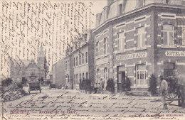 Beauraing - Avenue De La Gare (Restaurant Hôtel Café Attelage Animée, Précurseur, 1903) - Beauraing