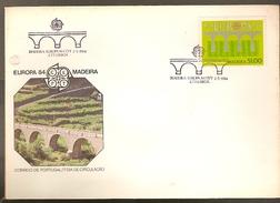Portugal & FDC Bridge, Madeira , Lisboa 1984 (1658) - Ponti