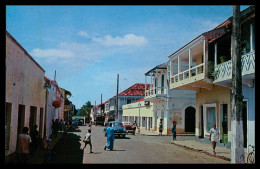 BISSAU - Rua Dr. Oliveira Salazar ( Ed. Foto-Serra Nº 135) Carte Postale - Guinea Bissau
