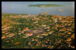 BISSAU - Vista Aerea Parcial E Ilheu Do Rei ( Ed. Foto-Serra Nº 142) Carte Postale - Guinea Bissau