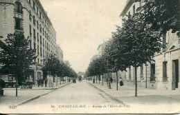 N°52162 -cpa Choisy Le Roi -avenue De L'hôtel De Ville- - Choisy Le Roi
