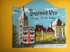 2530 -  Legrand Vin Rouge De Table - Rouges