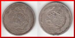 *** AFGHANISTAN - 1/2 RUPEE AH1347 - 1 QIRAN AH1347 (1928) HABIBULLAH GHAZI - ARGENT - SILVER *** EN ACHAT IMMEDIAT !!! - Afghanistan
