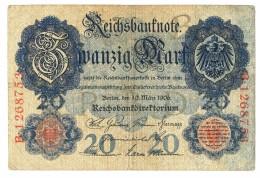 Germany 20 Mark 1906 - [ 2] 1871-1918 : German Empire
