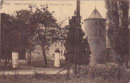 Grez-Doiceau - Le Château De Grez (P.I.B...pli) - Grez-Doiceau
