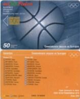Telefonkarte Bulgarien - BulFon - Sport - Basketball  - 50 Units - 02/04  -  Auflage 55000 - Bulgarien