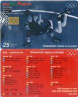 Telefonkarte Bulgarien - BulFon - Sport - Ringen  - 25 Units - 02/04  -  Auflage 60000 - Bulgarien