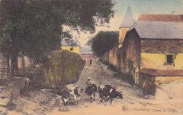 Houffalize - Château De Tavigny (animée, Colorisée, Vaches) - Houffalize