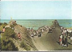Cpsm Gf -  Le Gois Passage à Marée Basse   22 - Ile De Noirmoutier