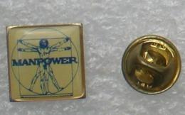 Pin's Travail Temporaire , Manpower  , Intérim    P1+ - Pin
