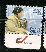 Portugal ** & The Voices Of The Portuguese Radio, Artur Agostinho 2016 (6868Pub) - 1910 - ... Repubblica