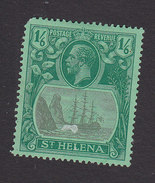St Helena, Scott #88, Mint Hinged, Badge Of Colony, Issued 1922 - Saint Helena Island