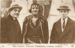 Max Linder - Douglas Fairbanks - Charlie Chaplin - Personalità
