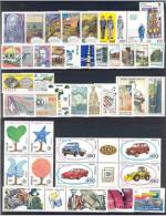 ITALIA REPUBBLICA - 1986 - Annata Completa - 42 Valori - Complete Year - ** MNH/VF - Full Years