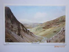 Postcard Honister Pass Lake District By Chadwick Studio Of Leeds My Ref B1205 - Cumberland/ Westmorland