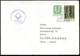 (1720) Aland Schiffspost, Viking Line, M/S MARIELLA, Gestempelt 1985 (Frühdatum) In Helsinki Navire - Aland