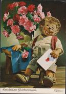 1967 Mecki Von Diehl-Film Herzlichen Gluckwunsch Postcard Postkaart CPA Grote Kaart Grand Format - Mecki